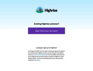 solvemediainc.highrisehq.com screenshot
