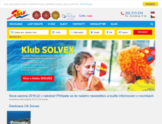 solvex.cz screenshot