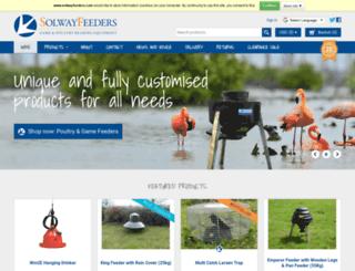 solwayfeeders.com screenshot