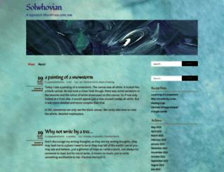 solwhovian.wordpress.com screenshot