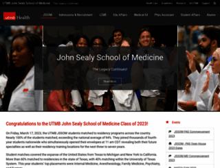 som.utmb.edu screenshot