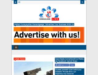 somalilandlive.com screenshot