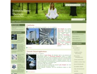 somatic-gene-therapy.blogspot.com screenshot