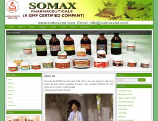 somaxved.com screenshot