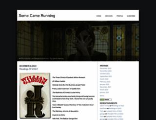 somecamerunning.typepad.com screenshot
