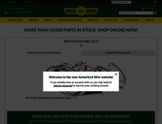 somerfordmini.co.uk screenshot