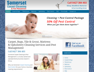 somersetcarpetcleaning.com.au screenshot