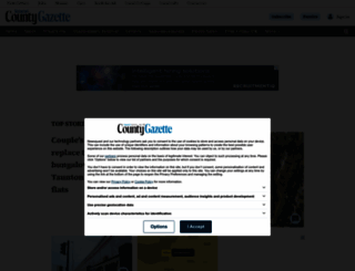 somersetcountygazette.co.uk screenshot