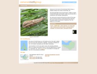 somersetmothgroup.org.uk screenshot