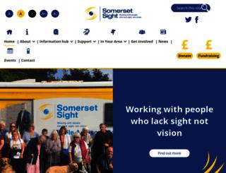 somersetsight.org.uk screenshot