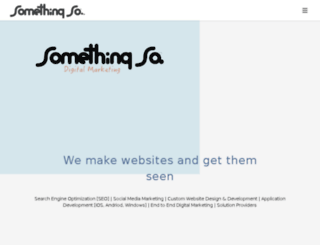 somethingso.co.uk screenshot