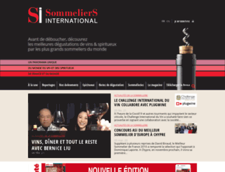 sommeliers-international.com screenshot
