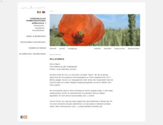 sommer-akademie.com screenshot