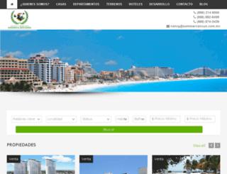 sommercancun.com.mx screenshot