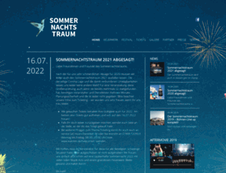 sommernachtstraum-muenchen.de screenshot