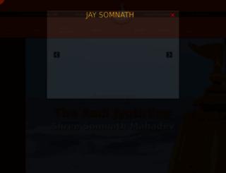 somnath.org screenshot