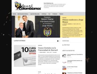 somoscolombianos.com screenshot