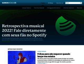 somosmusica.com.br screenshot