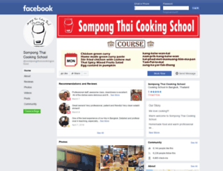 sompongthaicookingschool.com screenshot