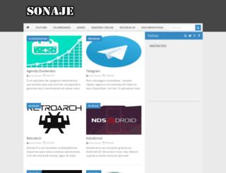 sonaje.com screenshot