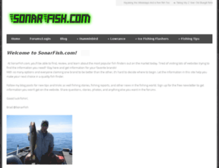 sonarfish.com screenshot