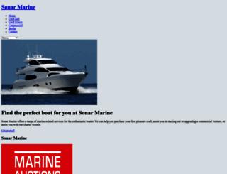 sonarmarine.com.au screenshot