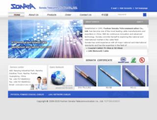 sonata-china.com screenshot