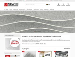 sonatech.eu screenshot