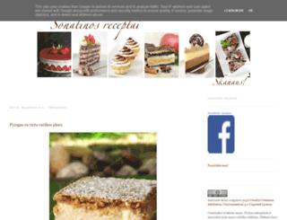 sonatinos-receptai.lt screenshot