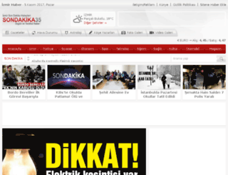 sondakika35.com screenshot