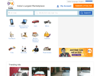 sonepat.olx.in screenshot