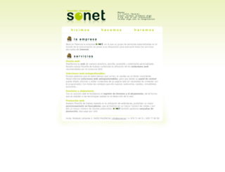 sonet.es screenshot