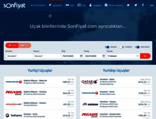 sonfiyat.com screenshot