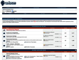 sonforum.org screenshot