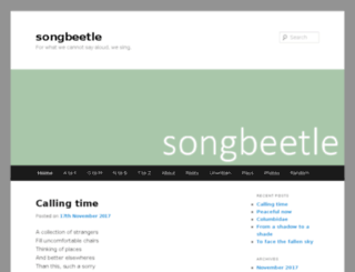 songbeetle.com screenshot