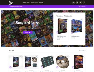 songbird-productions.com screenshot