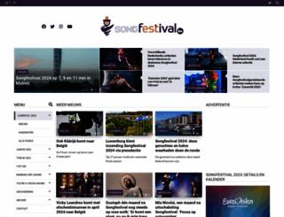 songfestival.be screenshot
