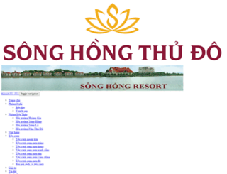 songhongresort.com screenshot
