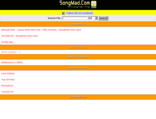 songmad.com screenshot