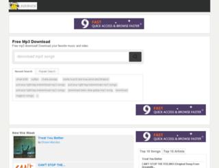 songs.beniganj.com screenshot