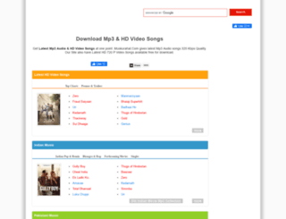 songs.muskurahat.com screenshot