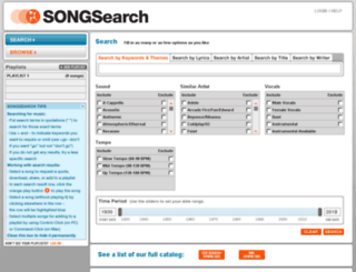 songsearch.songspub.com screenshot