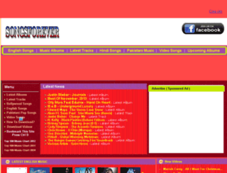 songsforever.altervista.org screenshot