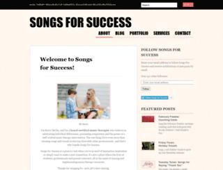 songsforsuccessmt.com screenshot