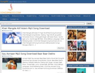 songspkboss.in screenshot