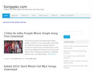 songspkc.com screenshot