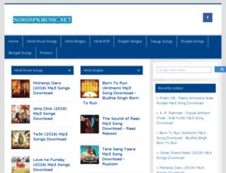 songspkmp3.nl screenshot
