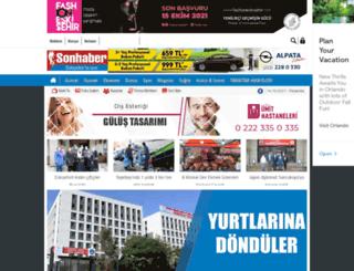 sonhaber.com.tr screenshot