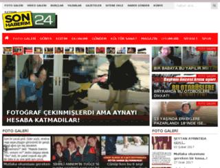 sonhaberim24.com screenshot