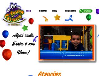 sonhocoloridobuffet.com.br screenshot